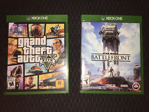 GTA 5 and Battlefront for Xbox One
