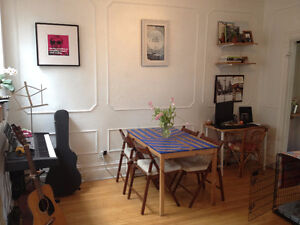 Beautiful and bright apartment in the Plateau!