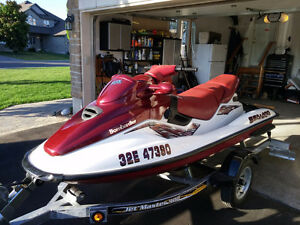 1998 Seadoo GTX Limited 155, 3 seater (NO Trailer)