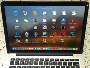 "MacBook Pro 2015 13"" 8GB i5 2.7GHZ 128GB MSOffice and Adobe PS"