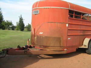 20' LIFT-OFF BUMPER PULL STOCK TRAILER WITH ALL HARDWARE Strathcona County Edmonton Area image 3