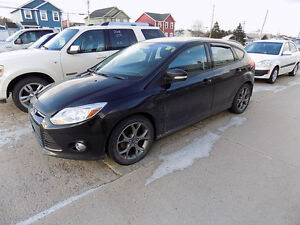 2013 Ford Focus SE Hatchback $ 7,500.00 Call 727-5344