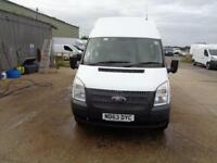 Ford Transit High Roof Van Tdci 100Ps Euro 5 DIESEL MANUAL WHITE (2013)