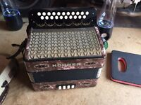 Hohner Melodeon 3 voice