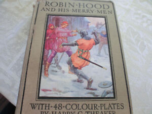 Robin Hood and his Merry Men by Harry G. Theaker