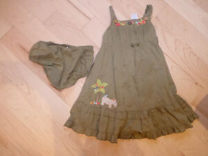 Gymboree dress with bloomers, size 3T, very good condition
