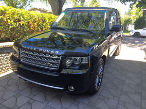 2012 Land Rover Range Rover V-8 Supercharged, 510 HP, 55,000 Km