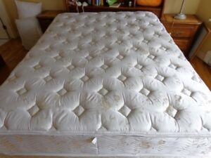 Queen Bed orig. $3600 Exc. Condition Lr. Sack