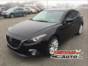 Mazda MAZDA3 GT Nav Cuir Toit Ouvrant MAGS **insp comp 2015