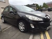 Peugeot 308 new shape 1.6 hdi 2008 cheap tax 92000 miles 1495