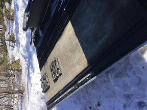 2003 Karavan double snowmobile trailer