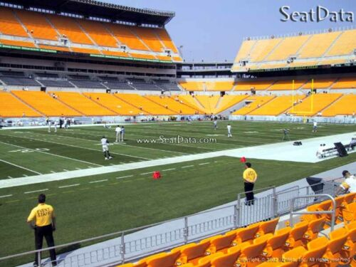 (2) Steelers vs Redskins Tickets Lower Level 10 Yard Line 7th Row!!