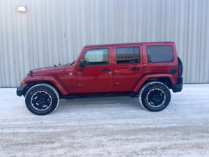 2012 Jeep Wrangler Special Edition Altitude with WARRANTY