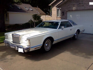 1978 Lincoln Continental Mark V coup