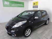 BLACK NISSAN LEAF 0.0 ACENTA ELECTRIC ***FROM £281 PER MONTH***