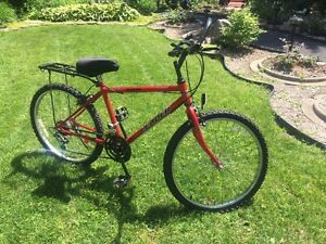 Bicyclette-Vélo Leader Rouge Red