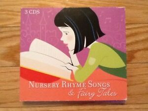 Nursery Rhyme Songs & Fairytales CD set of 3