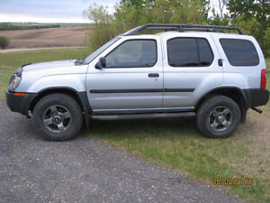 REDUCED SEPT ONLY 2002 NISSAN XTERRA SE SILVER ICE 4X4 AUTO