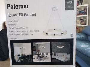 New Palermo LED Round Pendant