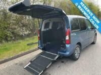 2015 Peugeot Partner Tepee 5 Seat Auto Wheelchair Accessible Disabled Access Ram