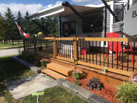DECKS FENCES DOCKS SHEDS BASEMENT RENOS AND MORE