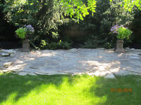 flagstone patio stones