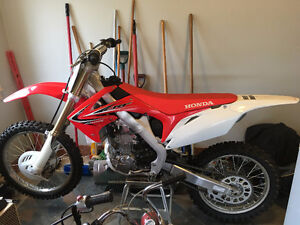 2013 HONDA CRF250 - AS NEW CONDITION.