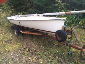 Sailboat with trailer for sale * Crazy Price