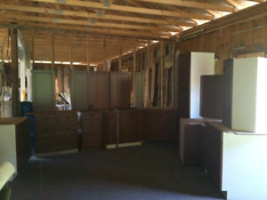 Whole kitchen cabinets $3400 takes maple? Cherry ?cabinet doors