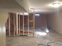 Tile Removal and Interior Demolition