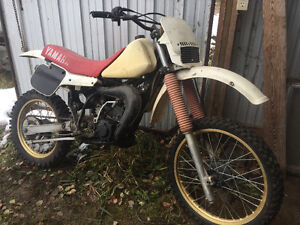 Yamaha YZ125 project or parts