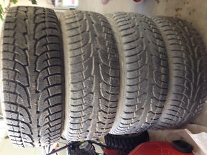 F150 rims and snow tires like new