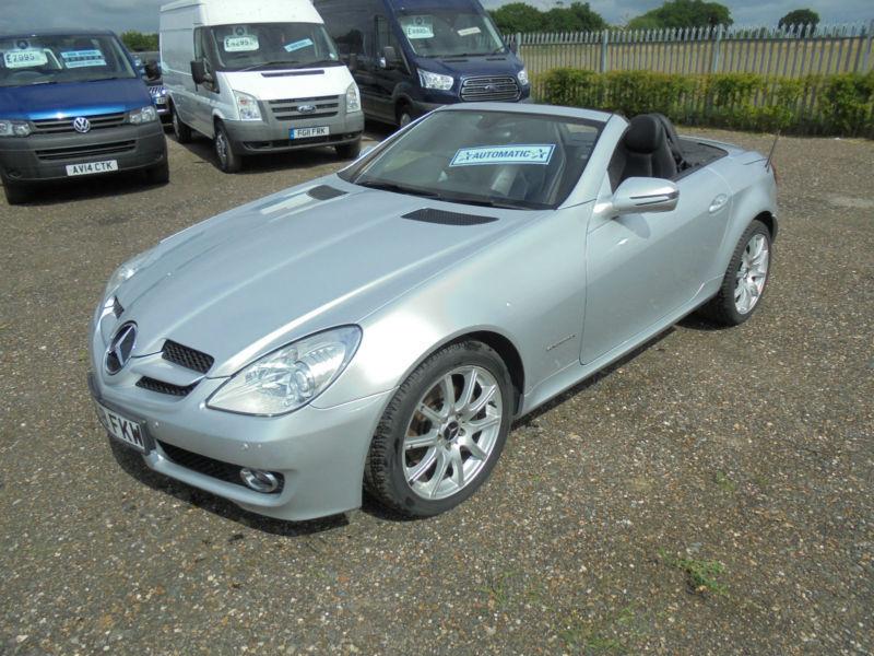 2008 58 Mercedes Benz Slk 200 Kompressor 1 8 Auto Convertible In