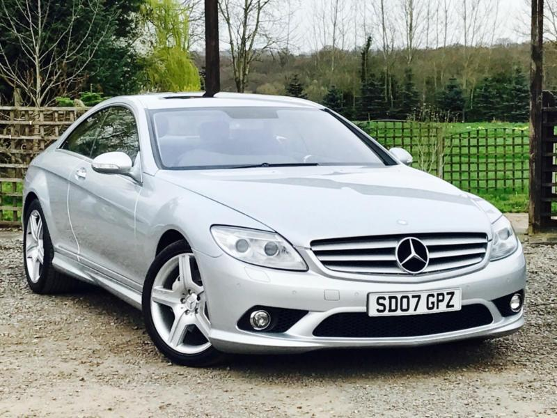 2007 07 Mercedes Benz Cl 500 Cl500 5 5 Amg Styling 59k