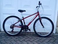 """Ladies Girls Ridgeback Mountain Bike 26"""" Wheels"""