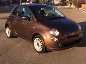 2012 Fiat 500 Pop Coupe, only 28500 km, CarProof, Inspected, 5M