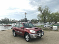 2001/51 Toyota RAV4 2.0 D-4D GX 5 Door Hatchback Red/Silver