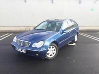 2003 Mercedes-Benz C220 CDI Elegance Estate - Very Clean Diesel - 12 Months MOT