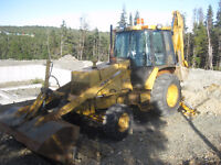 For sale john deere backhoe 4x4