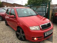 ✿05-REG Skoda Fabia 1.9 TDI VRS 5dr ✿130 BHP ✿TWO OWNERS FROM NEW✿