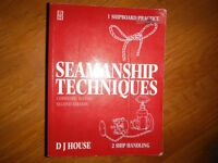Seamanship Techniques, 2nd Edition (2 Volumes)  by David House