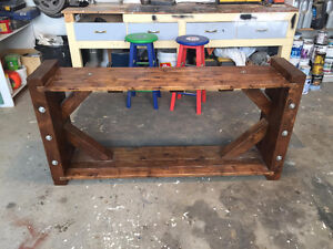Custom Made Solid Cedar TV Stand