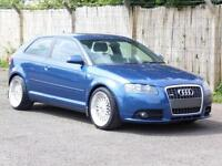 Audi A3 2.0TDI S Line, 2006 Quattro, 18 Alloys,170 BHP , 6 Months AA Warranty,
