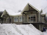 Chalet à louer Mont-Édouard / Cottage for rent Mont-Edouard