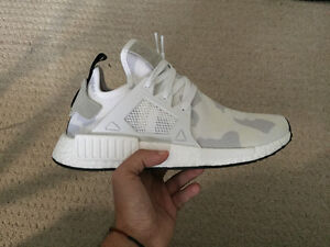 ADIDAS NMD XR1 WHITE CAMO--DS--SZ 9 US--AUTHENTIC London Ontario image 3