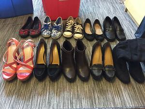 Various shoes size 6-7 - Converse, BCBG, Nine West, Keds