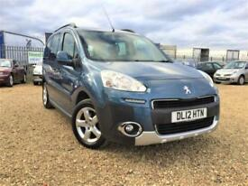 2012 Peugeot Partner 1.6HDi 115bhp Tepee Outdoor Warranty & Delivery PX welcome