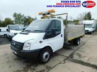 FORD TRANSIT DROPSIDE 2.2TDCi 125PS RWD T350EF DRW WITH TAIL LIFT AND ECO MODE