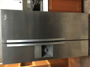 Stainless Whirlpool Fridge