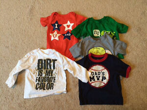 Boys 9-12 month shirts (sold as a set)